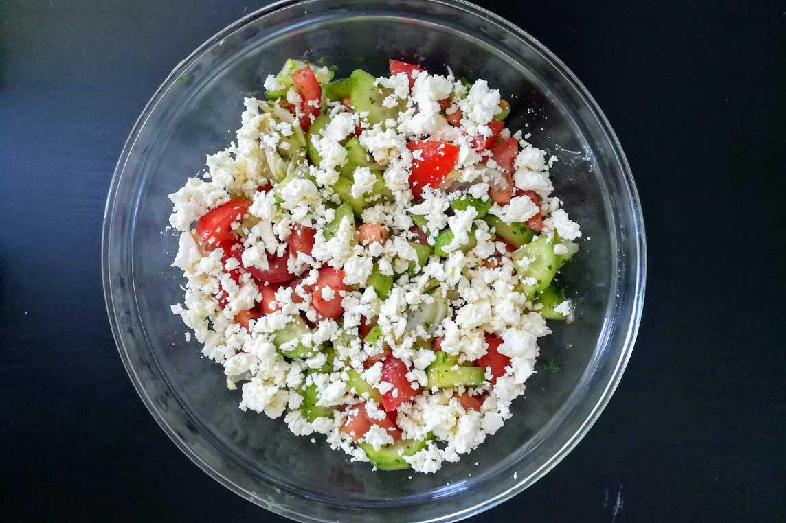 Schopska-Salat